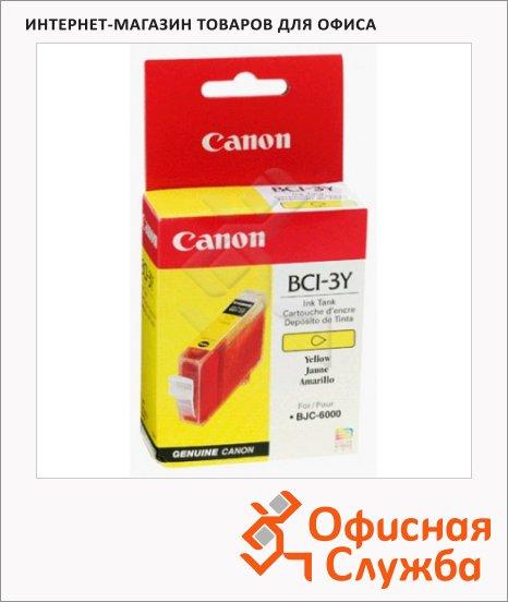 фото: Картридж струйный Canon BCI-3Y желтый