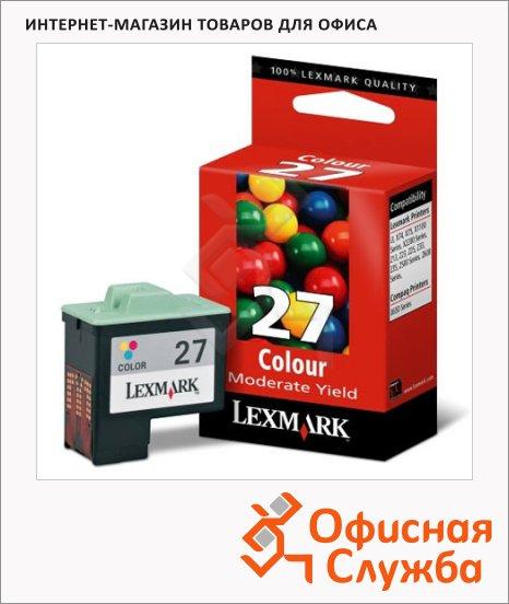 фото: Картридж струйный Lexmark 10N0227E цветной