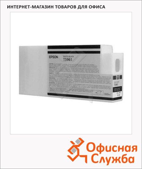 Картридж струйный Epson C13 T596100, черный