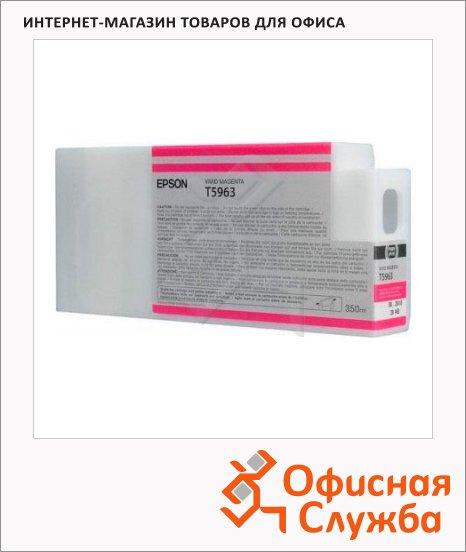 фото: Картридж струйный Epson C13 T596300 пурпурный