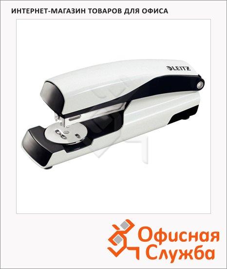 Степлер Leitz NeXXt №24/6, 26/6, до 30 листов, + 200 скоб, белый