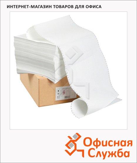 Перфорированная бумага Mega Office Эконом 210х305мм, белизна 90%CIE, с неотрывной перфорацией, 2000шт