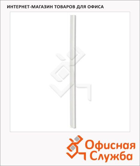 Скрепкошина Durable белая, 297х13мм, до 60 листов, 2901-02