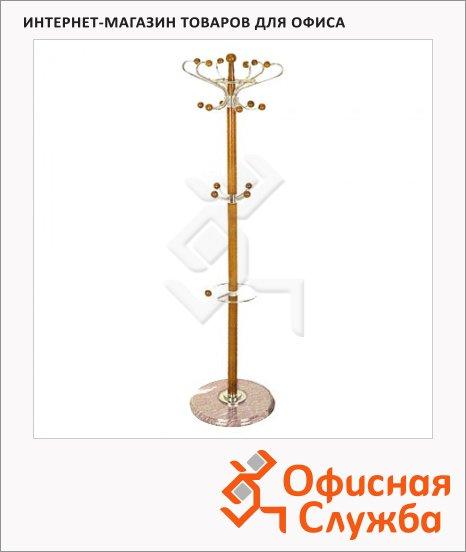 Вешалка-стойка напольная Tetchair XY-018, 1800х390мм, бук