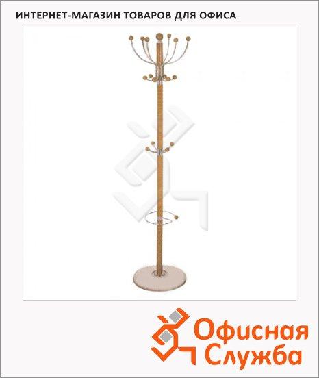 Вешалка-стойка напольная Tetchair XY-029, бук, 1800х390мм