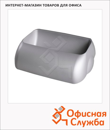 Держатель для мешка Lime Satin серый, 9х22.5х33.5см, для корзины 23л, А 74401SAT