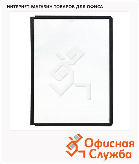 Панель для демосистем Durable Sherpa А4, черная, 5 шт, 5606-01