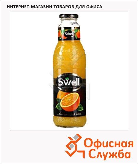 Сок Swell апельсин, стекло, 0.75л x 6шт
