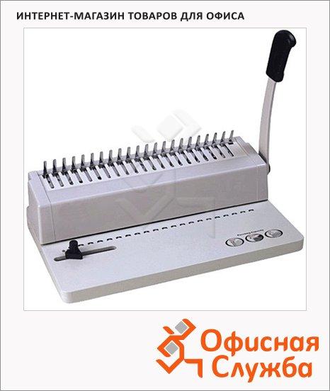 Брошюровщик гребеночный Oma SD-238, на 8 листов, переплет до 180 листов, пластиковая пружина
