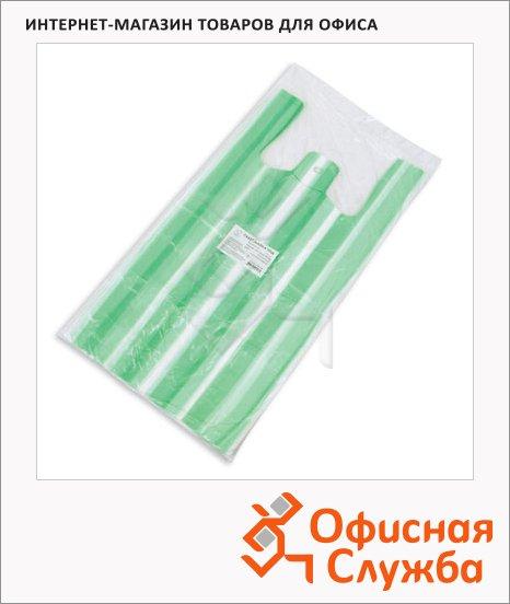 Пакет Майка ПНД 25х12х45см, 7мкм, 100 шт/уп, цветной, полосатый