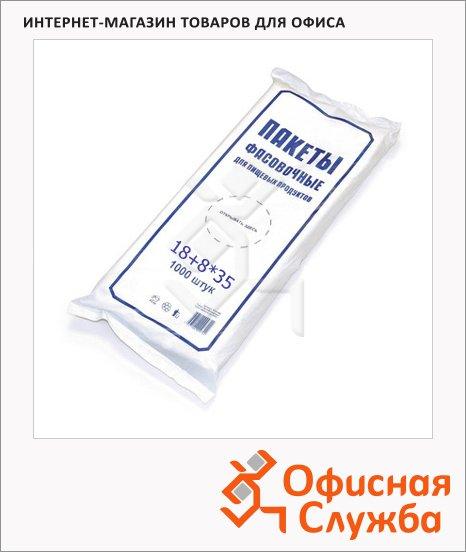 Пакет фасовочный Знак Качества Эконом 18х8х35см, 7мкм, 1000 шт/уп