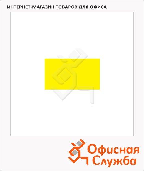 фото: Этикет-лента прямоугольная 16х26мм 1000шт/рул, 10рул, желтая