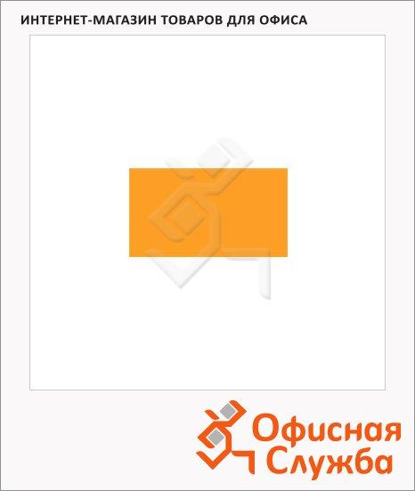 Этикет-лента прямоугольная 16х26мм, 1000шт/рул, 10рул, оранжевая