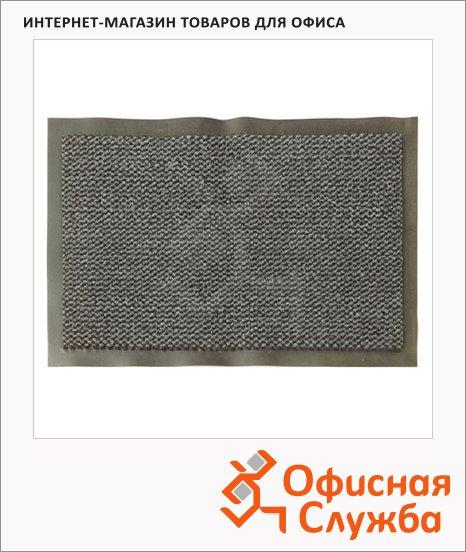 фото: Коврик придверный Экоколлекция ворсовый серый, 90х150см
