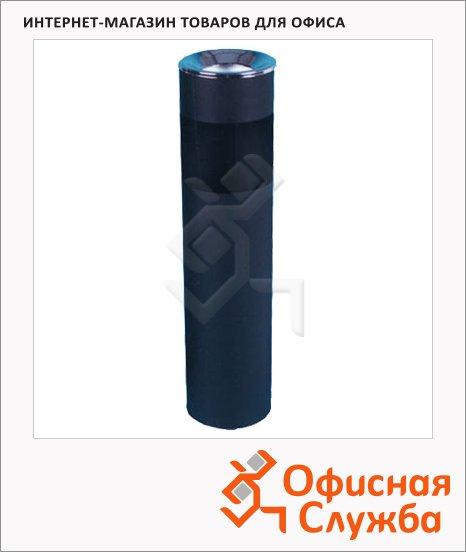 Урна-пепельница напольная Титан 10л, черная, К150Н
