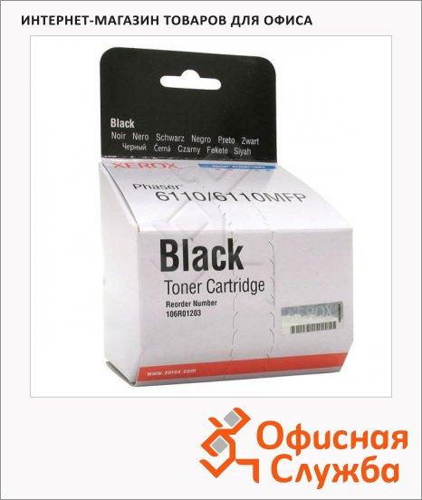 фото: Тонер-картридж Xerox 106R01203 черный