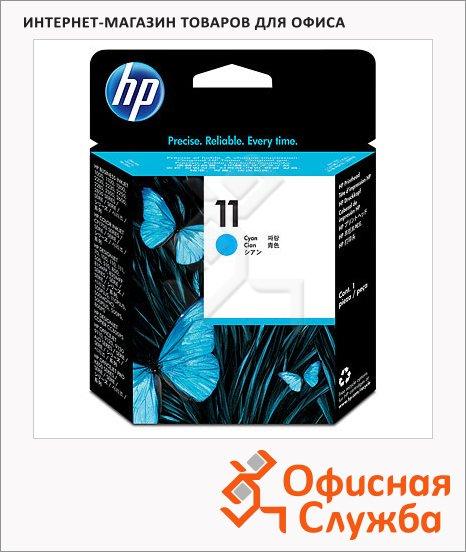 фото: Печатающая головка Hp 11 C4811A голубая