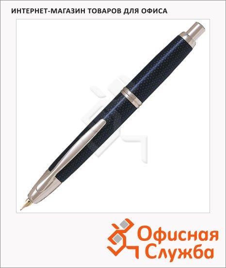 Ручка перьевая автоматическая Pilot Capless F, синяя, синий лак