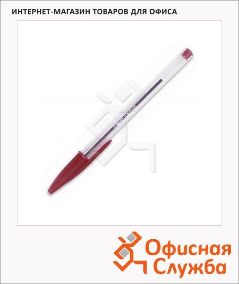 Ручка шариковая Bic Cristal красная, 0.4мм