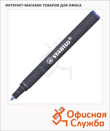 Стержень для ручки-роллера Stabilo Easy синий, 0.5 мм, 85 мм