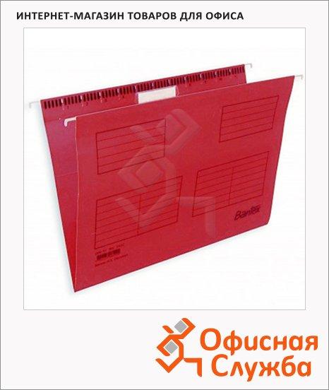 Папка подвесная Foolscap Bantex красная, А4+, 365х240 мм, 25 шт/уп, 3470-09