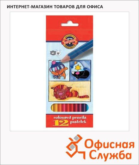 фото: Набор цветных карандашей Koh-I-Noor 359 12 цветов