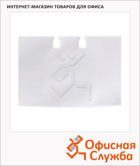 Карманы для картотек Durable Visifix на 40 карточек, прозрачные, 104х72мм, 2418-19