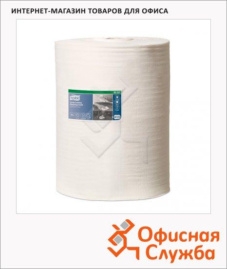 фото: Протирочный материал Premium 905370 в рулоне, белые, 300 листов, 1 слой, 38х32см, для интенсивной очистки