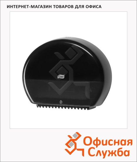 Диспенсер для туалетной бумаги в рулонах Tork Elevation T2, 555008, мини, черный