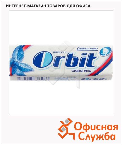 Жевательная резинка Orbit сладкая мята, 10уп х 10шт
