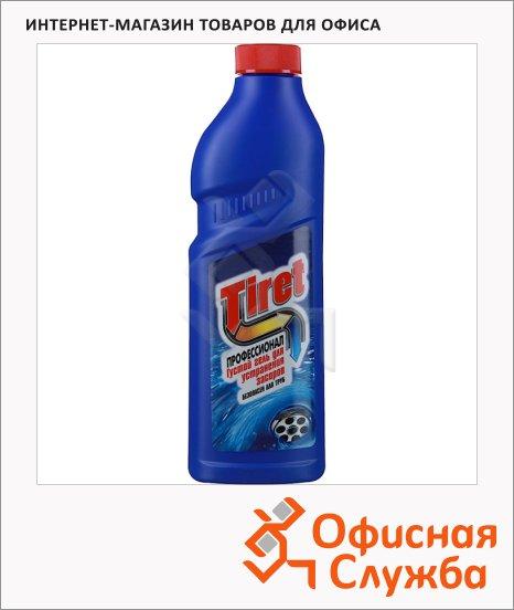 Средство для прочистки труб Tiret Профессионал 1л, гель