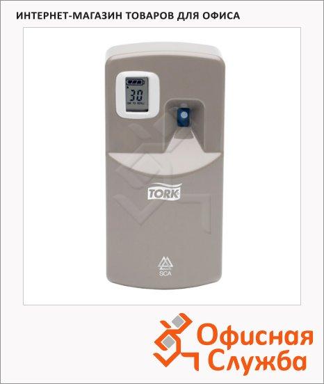 Диспенсер для освежителя воздуха Tork Aluminium A1, 256055, серый