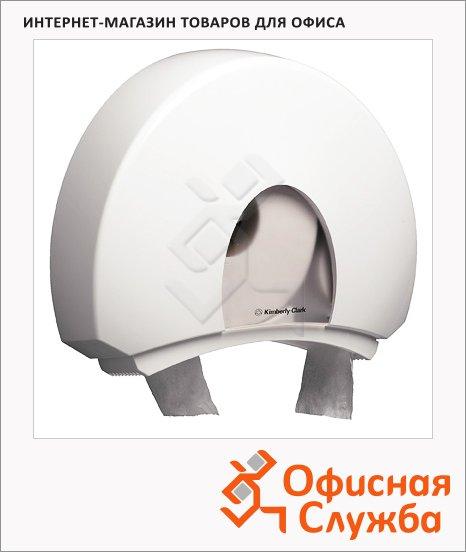 Диспенсер для туалетной бумаги в рулонах Kimberly-Clark Aqua 6987, белый