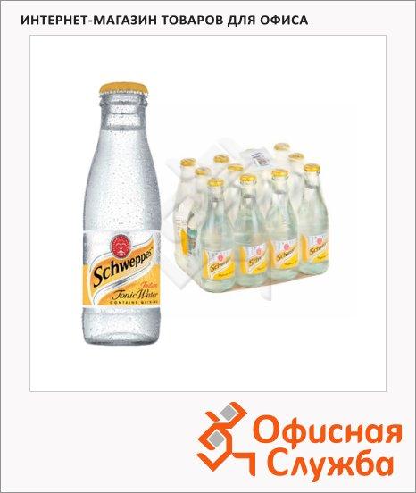 фото: Напиток газированный Schweppes Indian Tonic 250мл x 12шт стекло