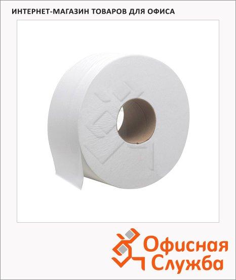 Туалетная бумага Kimberly-Clark Hostess Jumbo 8002, в рулоне, 525м, 1 слой, белая