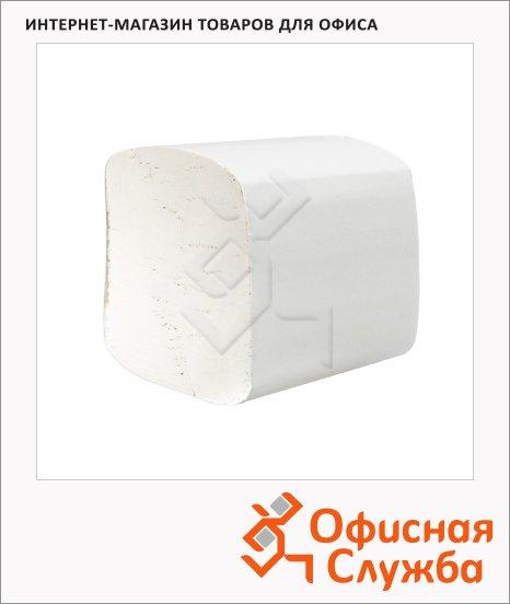 Туалетная бумага Kimberly-Clark Hostess 8035, листовая, 250шт, 2 слоя, белая