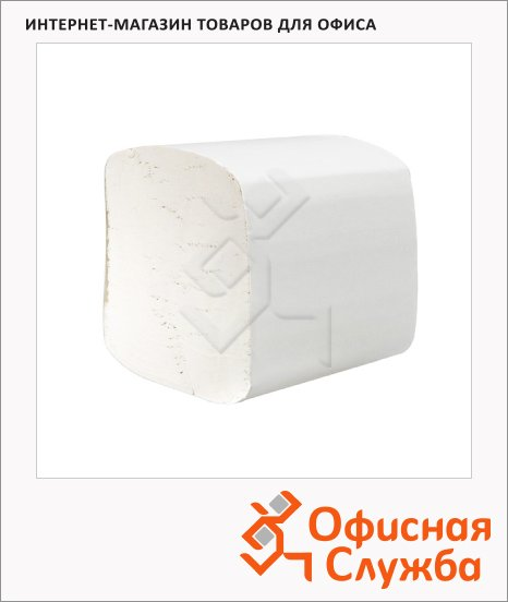 фото: Туалетная бумага листовая Kimberly-Clark Hostess 8035 250 листов, 2 слоя, белая