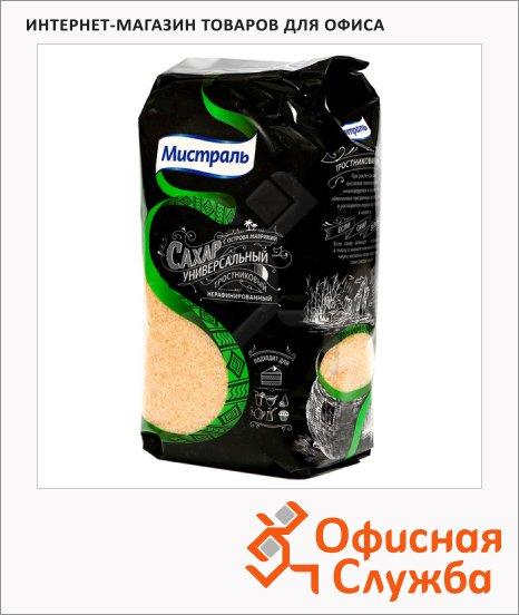 фото: Сахар Мистраль весовой коричневый, 1кг, универсальный