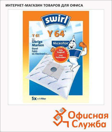 Пылесборник для пылесосов Swirl Y 64 MicroPor 4 шт + воздушный фильтр
