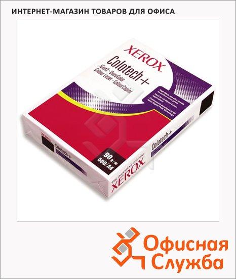 Бумага для принтера Xerox Colotech+ А4, 500 листов, белизна 170%CIE, 90г/м2
