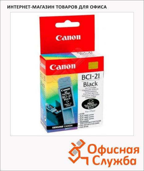 фото: Картридж струйный BCI-21B черный