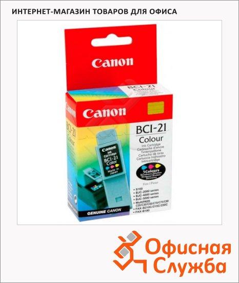 фото: Картридж струйный Canon BCI-21С голубой