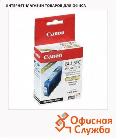 Картридж струйный Canon BCI-3PС, светло-голубой