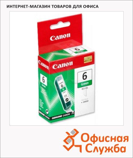 фото: Картридж струйный Canon BCI-6G зеленый