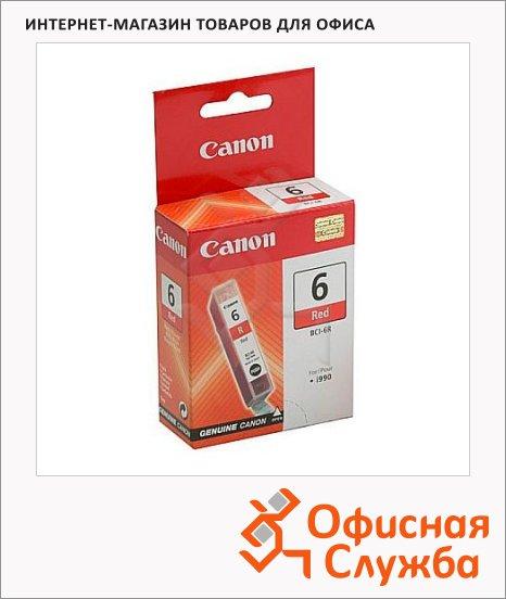 Картридж струйный Canon BCI-6R, красный
