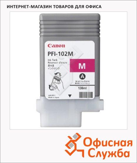 фото: Картридж струйный Canon PFI-102M пурпурный
