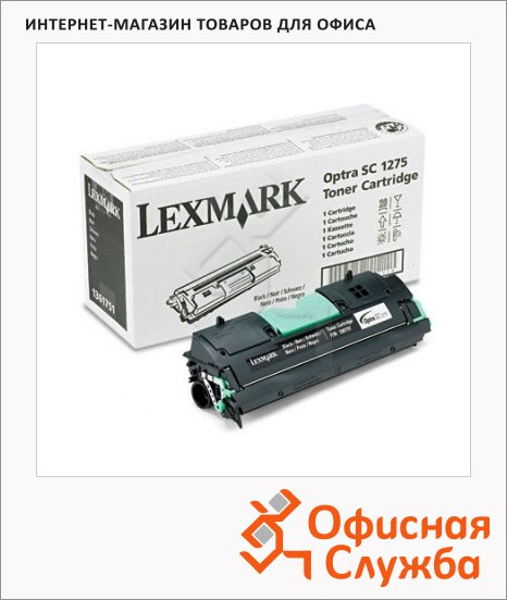 фото: Тонер-картридж Lexmark 1361751 черный