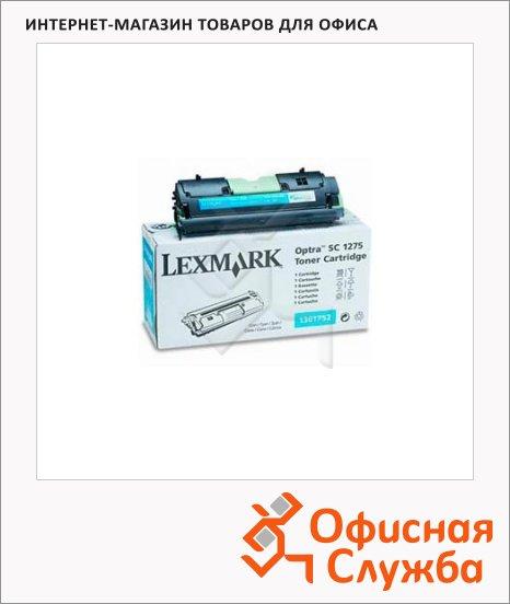 Тонер-картридж Lexmark 1361752, голубой