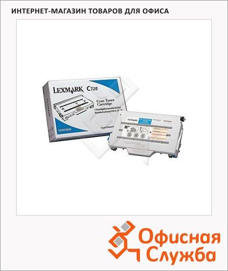Тонер-картридж Lexmark 15W0900, голубой