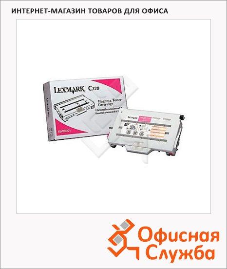 фото: Тонер-картридж Lexmark 15W0901 пурпурный